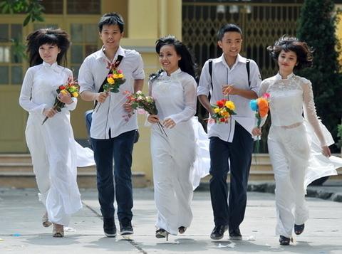 Đồng phục học sinh Cấp 3 VH0086
