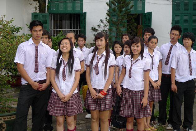 Đồng phục học sinh Cấp 3 VH0087