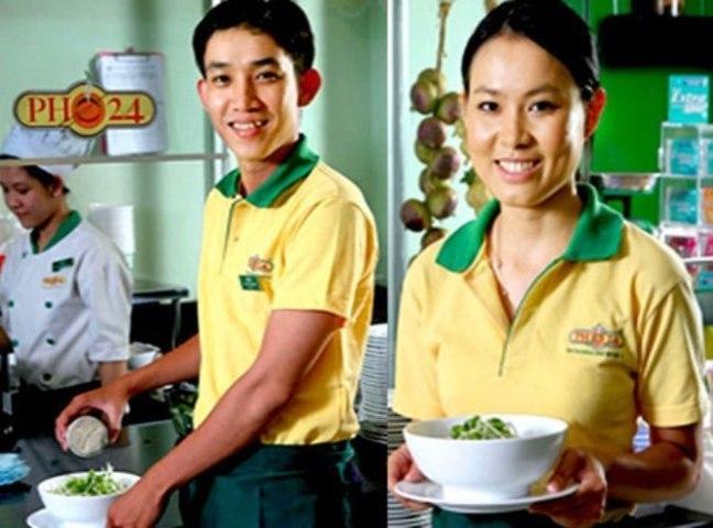 Đồng phục nhà hàng VH0093