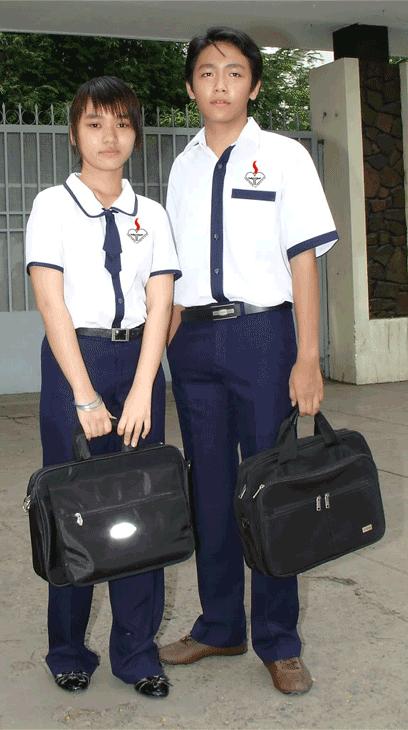 Đồng phục học sinh Cấp 2 VH0082